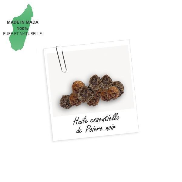 Huile essentielle de poivre noir de Madagascar