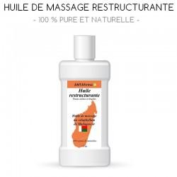 Huile de massage restructurante